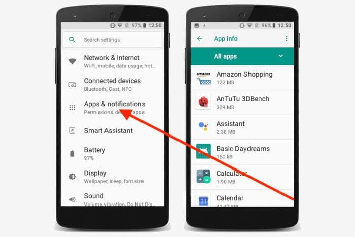 How do I uninstall built-in apps on Android - Step 3