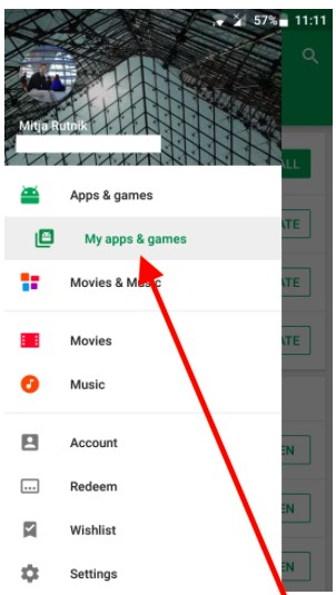 How do I uninstall built-in apps on Android - google play store