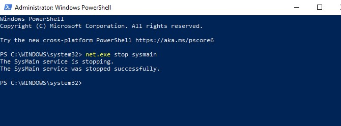How to Fix 100 Disk Usage Windows 10 - Disable SysMain Service