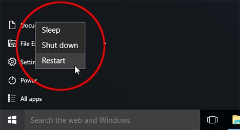 How to Fix 100 Disk Usage Windows 10 - Rebooting Your PC