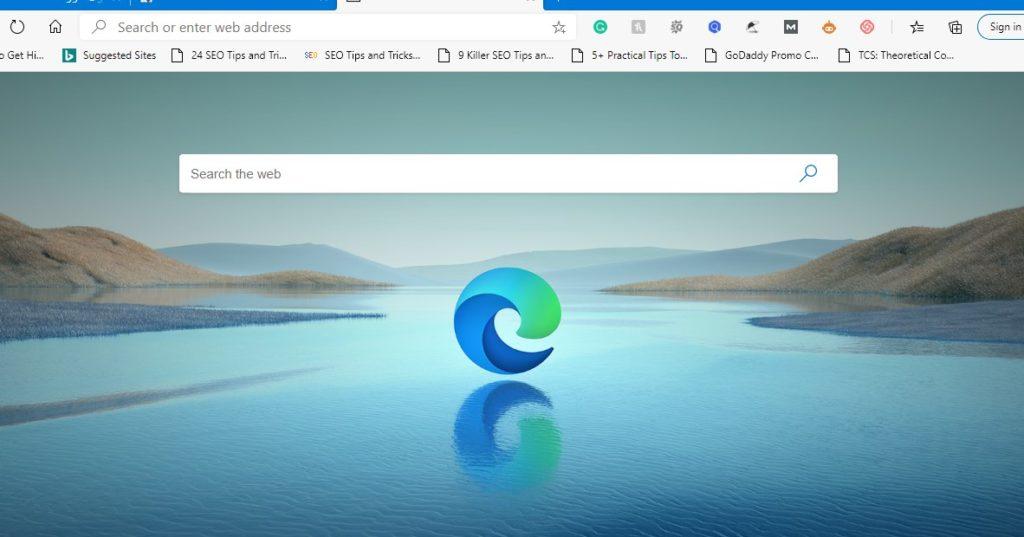 New Microsoft Edge browser 2020