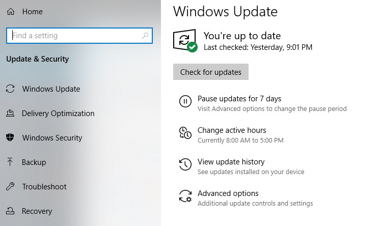 How to Make Games Run Faster on Windows 10 - windows update