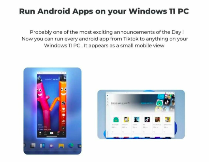 Everything You Need to Know About Windows 11 - Run Android Apps